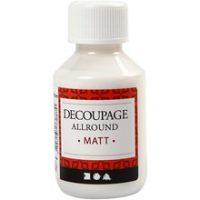 Decoupage-lack