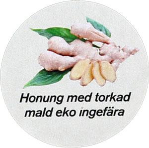Honung-Ingefära