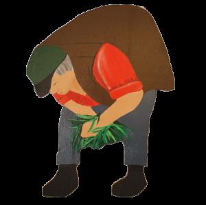 trädgårdsfigur Morfar-Ebbe